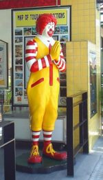 What do Ronald McDonald and Houdini have in common?