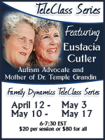 Family Dynamics & Autism Benefit & Teleclass Series with Eustacia Cutler