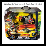 Giveaway  – Battle Tracker and for 2 Geek Dad books from Dad Bloggers