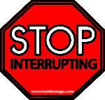 Interruptions – Interruptions – Interuptions