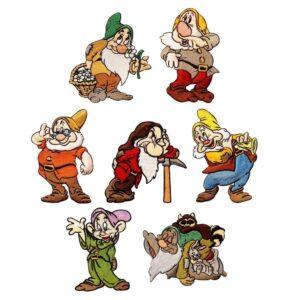 Seven Dwarfs off to work we go